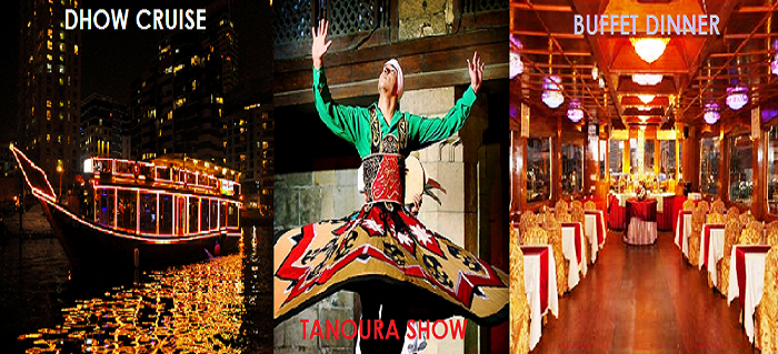 Dhow-cruise-dubai-creek-tanoura-dance-show-buffet-dinner-creek-cruise