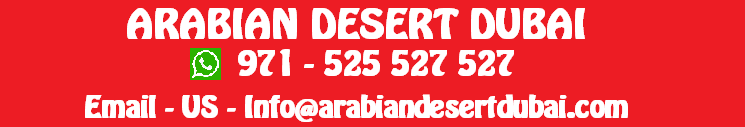 Desert Safari Dubai | Best Desert Safari Dubai Tour Operator in Dubai